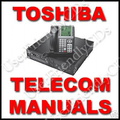 TOSHIBA Phone Telecom SYSTEM Strata DK Stratagy User Install Manual MANUALS CD 3