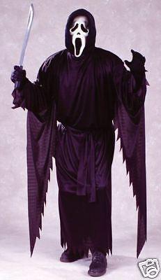Screamkostüm mit Maske Erwachsene, Halloween bis 100kg