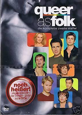 Queer as Folk Staffel 2 (5 DVDs) Neu OVP Deutsch