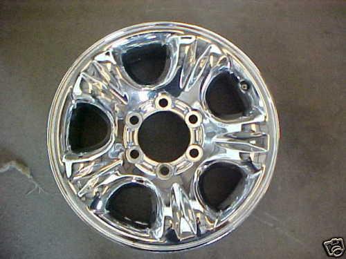 2001 4Runner Factory Chrome Alloy Wheel