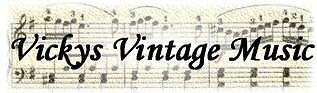 Vickys Vintage Music